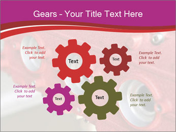 Red Automobile Part PowerPoint Template - Slide 47