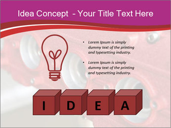 Red Automobile Part PowerPoint Template - Slide 80