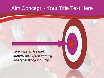 Red Automobile Part PowerPoint Template - Slide 83