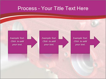 Red Automobile Part PowerPoint Template - Slide 88