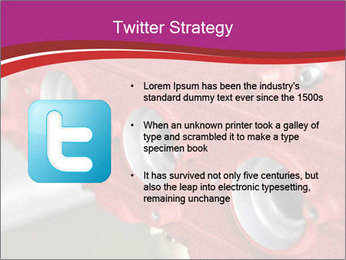 Red Automobile Part PowerPoint Template - Slide 9