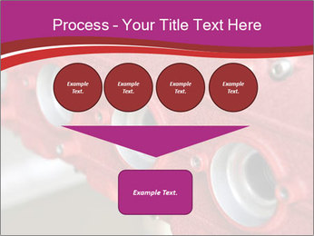 Red Automobile Part PowerPoint Template - Slide 93