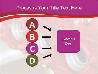 Red Automobile Part PowerPoint Template - Slide 94