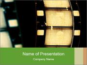 Vintage Movie Making PowerPoint Template