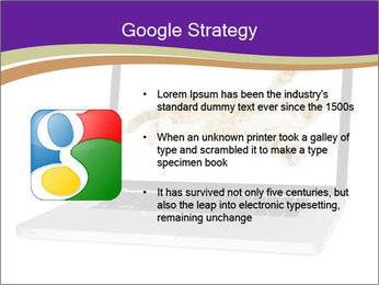 Cat Laptop Wallpaper PowerPoint Template - Slide 10