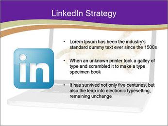 Cat Laptop Wallpaper PowerPoint Template - Slide 12