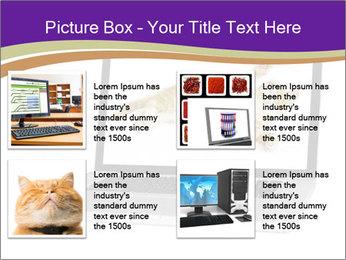 Cat Laptop Wallpaper PowerPoint Template - Slide 14