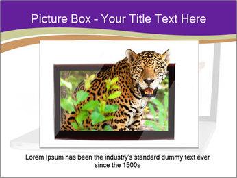 Cat Laptop Wallpaper PowerPoint Template - Slide 15