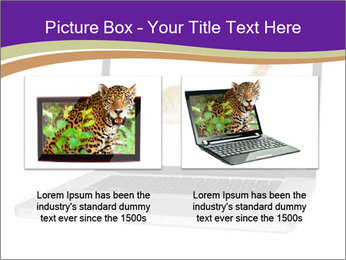 Cat Laptop Wallpaper PowerPoint Template - Slide 18