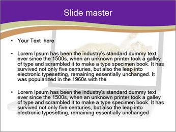 Cat Laptop Wallpaper PowerPoint Template - Slide 2