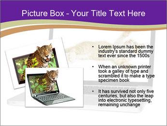 Cat Laptop Wallpaper PowerPoint Template - Slide 20