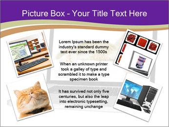 Cat Laptop Wallpaper PowerPoint Template - Slide 24