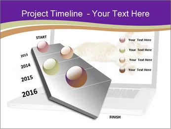 Cat Laptop Wallpaper PowerPoint Template - Slide 26