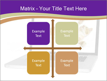 Cat Laptop Wallpaper PowerPoint Template - Slide 37