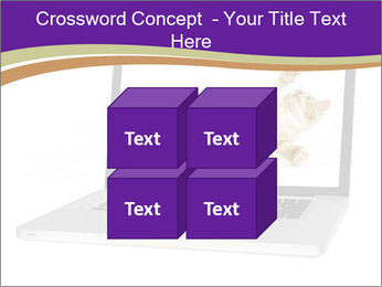 Cat Laptop Wallpaper PowerPoint Template - Slide 39