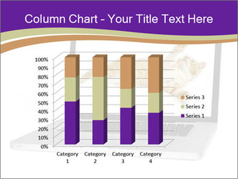 Cat Laptop Wallpaper PowerPoint Template - Slide 50