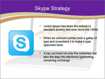 Cat Laptop Wallpaper PowerPoint Template - Slide 8