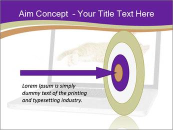 Cat Laptop Wallpaper PowerPoint Template - Slide 83