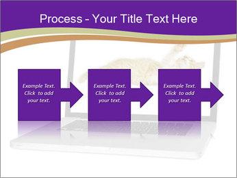 Cat Laptop Wallpaper PowerPoint Template - Slide 88