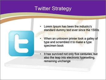 Cat Laptop Wallpaper PowerPoint Template - Slide 9