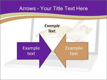 Cat Laptop Wallpaper PowerPoint Template - Slide 90