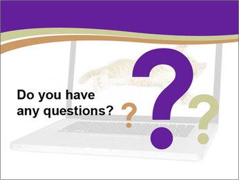 Cat Laptop Wallpaper PowerPoint Template - Slide 96