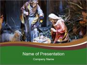 Christmas Theater PowerPoint Template