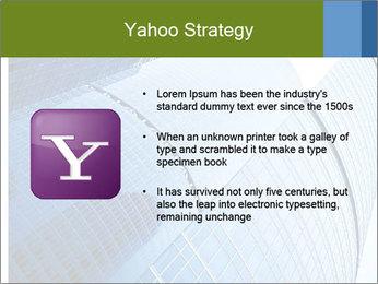 Glass Business Center PowerPoint Template - Slide 11