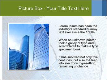 Glass Business Center PowerPoint Template - Slide 13