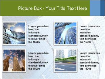 Glass Business Center PowerPoint Template - Slide 14