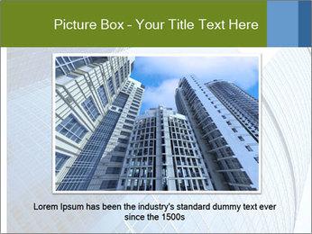 Glass Business Center PowerPoint Template - Slide 16