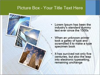 Glass Business Center PowerPoint Template - Slide 17