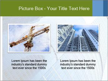 Glass Business Center PowerPoint Template - Slide 18