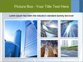 Glass Business Center PowerPoint Template - Slide 19