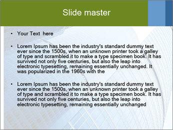 Glass Business Center PowerPoint Template - Slide 2