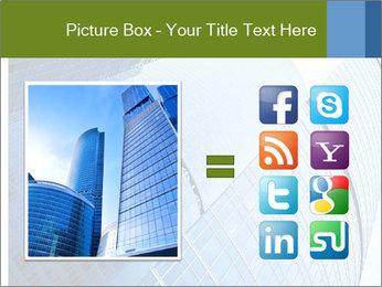 Glass Business Center PowerPoint Template - Slide 21
