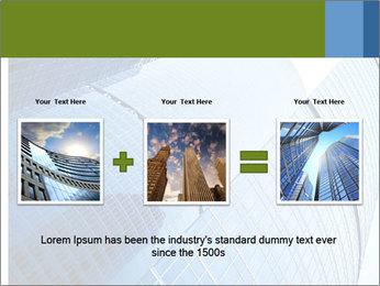 Glass Business Center PowerPoint Template - Slide 22