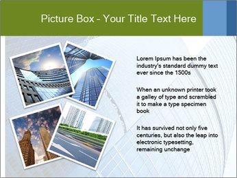 Glass Business Center PowerPoint Template - Slide 23