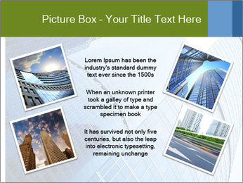 Glass Business Center PowerPoint Template - Slide 24
