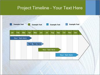 Glass Business Center PowerPoint Template - Slide 25