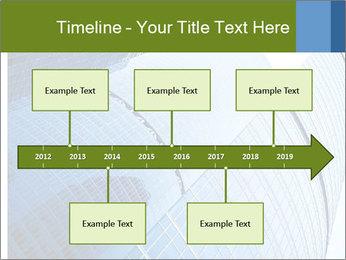 Glass Business Center PowerPoint Template - Slide 28