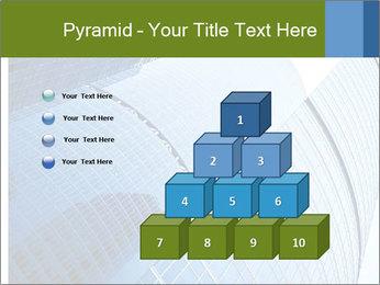 Glass Business Center PowerPoint Template - Slide 31