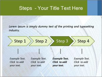 Glass Business Center PowerPoint Template - Slide 4