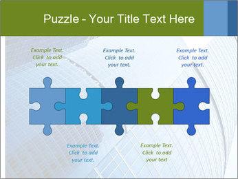 Glass Business Center PowerPoint Template - Slide 41