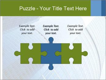 Glass Business Center PowerPoint Template - Slide 42