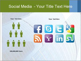 Glass Business Center PowerPoint Template - Slide 5