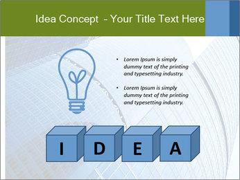 Glass Business Center PowerPoint Template - Slide 80