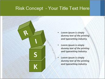 Glass Business Center PowerPoint Template - Slide 81