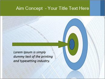 Glass Business Center PowerPoint Template - Slide 83