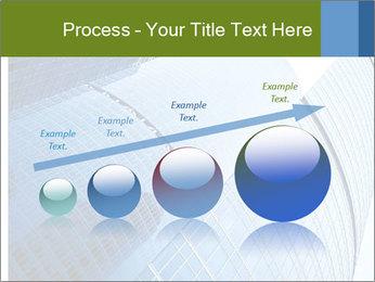 Glass Business Center PowerPoint Template - Slide 87